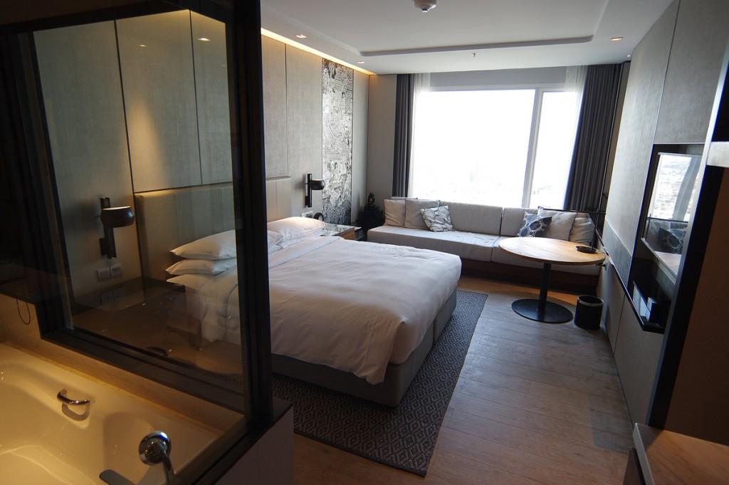 バンコク マリオットホテル スリウォンの部屋